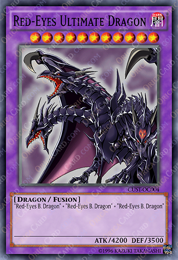 Red eyes ultimate dragon