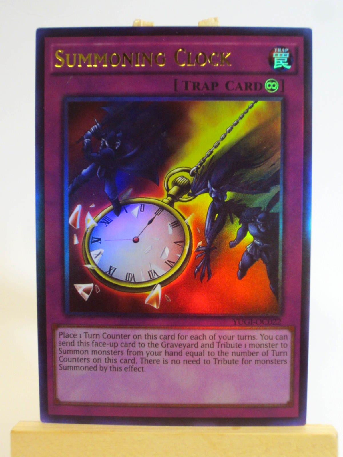 summoning clock oricacard com